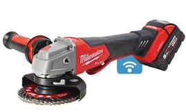 MILWAUKEE® M18 FUEL™       115/125 mm Braking Grinders Deliver Enhanced Safety on the Jobsite