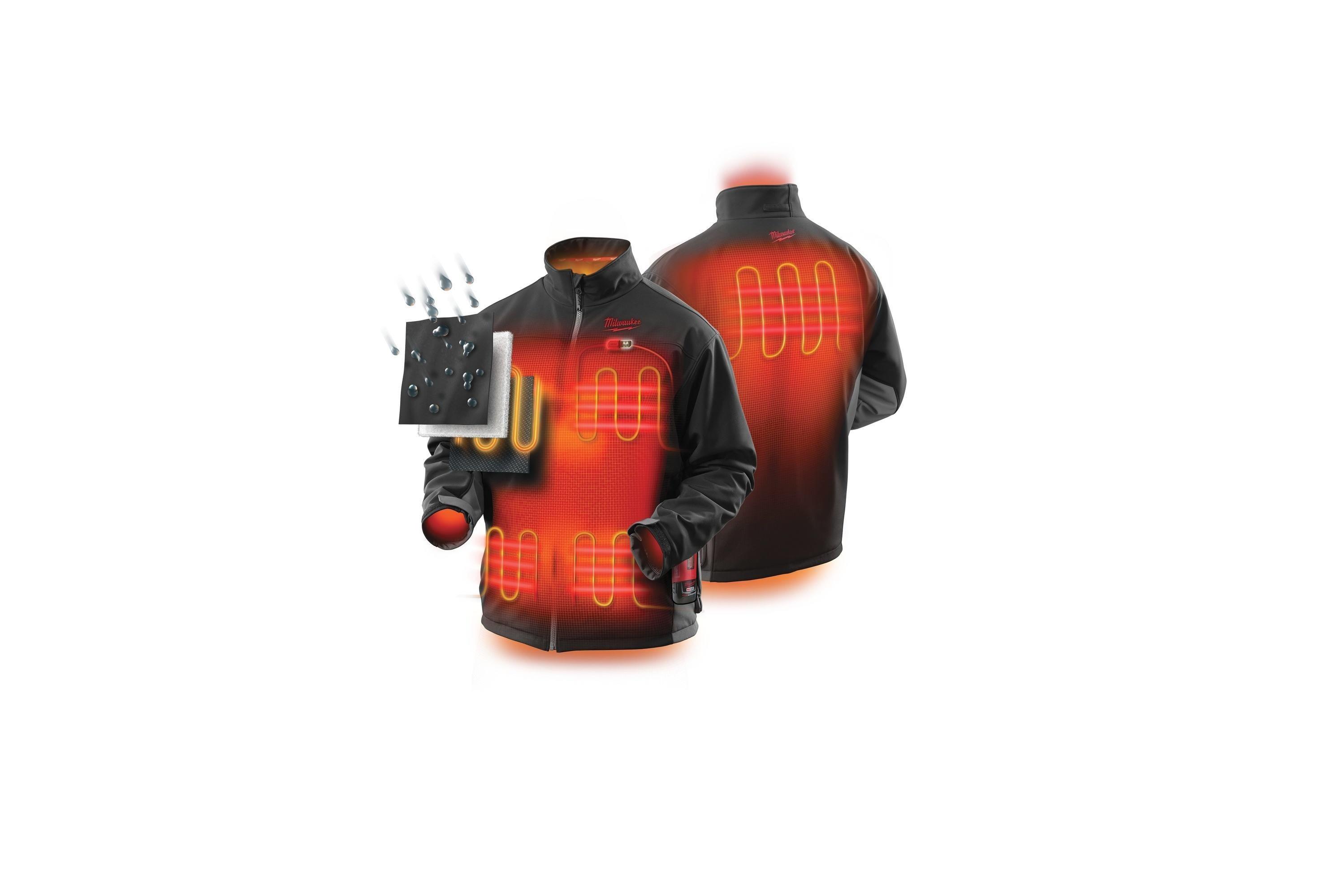 Milwaukee® vyhřívaná bunda poskytuje tepelný  komfort po celý den