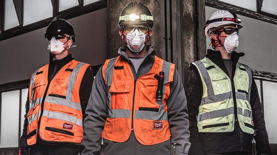 ARTICLE ZONE OUTILLAGE - Les masques Milwaukee : des masques de haute qualité pour une protection op