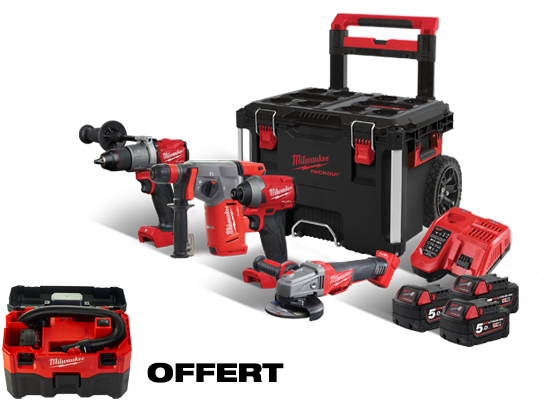 POWERPACK 4 OUTILS PACKOUT