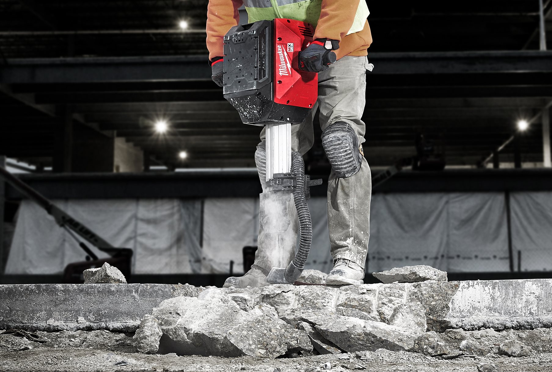 Akku-Abbruchhammer: Milwaukee kappt das Kabel