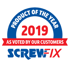 2019 SCREWFIX PRODUCT OF THE YEAR