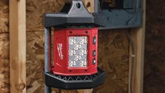 Фонарь для освещения стройплощадки Milwaukee® - максимальная производительность