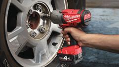 Milwaukee® poskytuje maximální utahovací moment až 1016 Nm a to díky M18 FUEL™