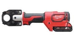 Milwaukee® Crimper Provides the Most Accurate Way to Crimp.