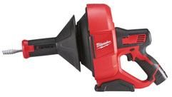 Milwaukee® Introduces Industry's Most Portable Drain Cleaners.