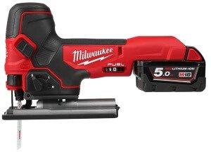 Milwaukee® представляет новый электролобзик с грибовидной рукояткой M18™ !