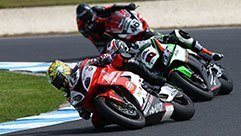 Race 1 Report – 2016 World Superbikes Australian Round