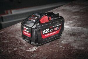 Itt a következő áttörés: A Milwaukee® bemutatja M18 HB12 - 18 V 12.0 Ah nagy teljesítményű akkumulát