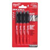Inkzall Fine Tip Markers - 4 pcs