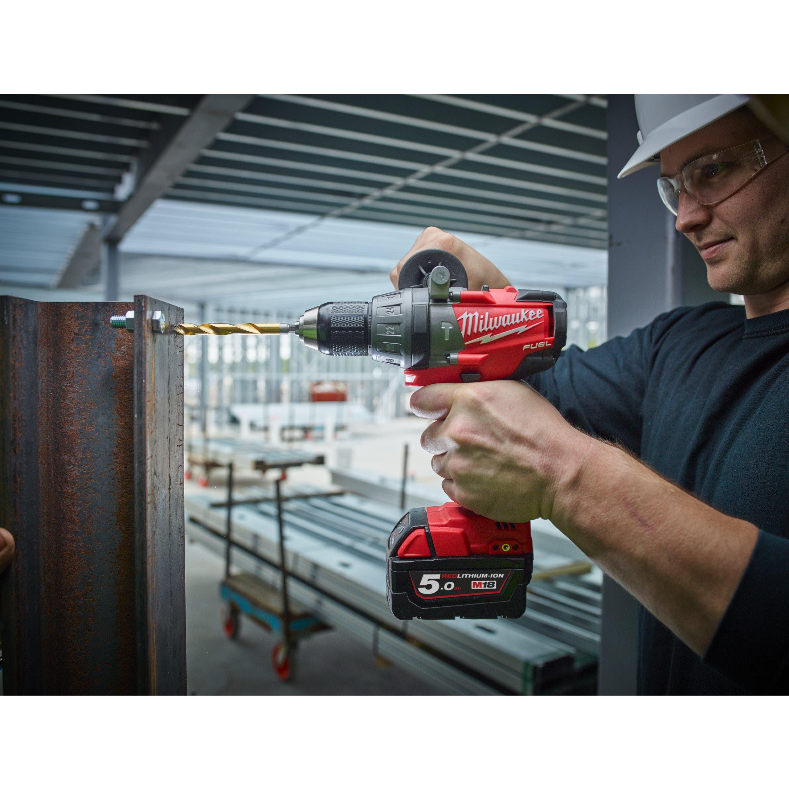 """Milwaukee SHOCKWAVE Metallbohrer HSS-G RED HEX Titan 1//4/"""" 13 x 130 mm"""
