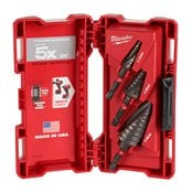 SHOCKWAVE™ impact step drill set (3pc)