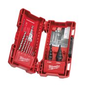 Step & drill bit combo set (10pc)