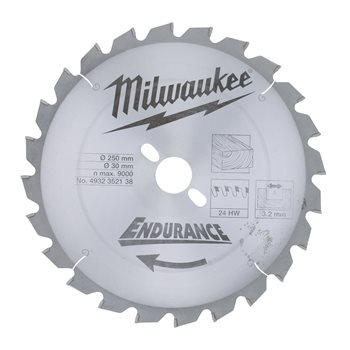 Circular saw blades for mitre saws