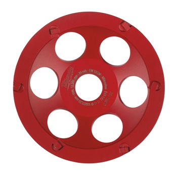 Combi-segment diamond cup wheels