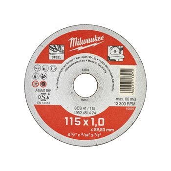 Thin metal cutting discs - contractor series