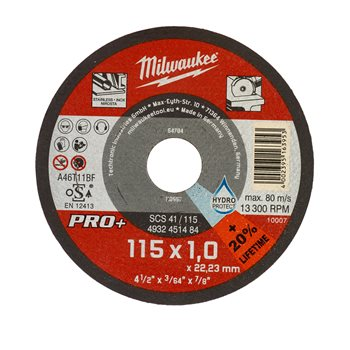 Thin Metal Cutting Discs
