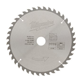 Circular saw blades for portable tools