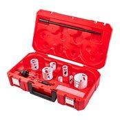 Holesaw kit 4 - 1 pc