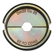 DIN22 Cu 25 - 1 pc