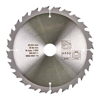 Circular saw blades for table saws Gen II