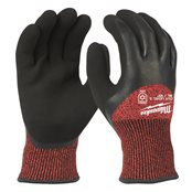 Winter Gloves Cut Level 3 -XL/10 -1pc