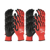 12 Pack Cut Level 3  Gloves-M/8