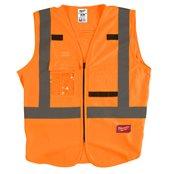 High-Visibility Vest Orange - S/M