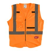 High-Visibility Vest Orange - L/XL