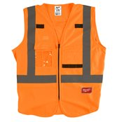 High-Visibility Vest Orange - 2XL/3XL