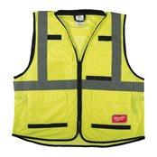 Premium High-Visibility Vest Yellow - S/M
