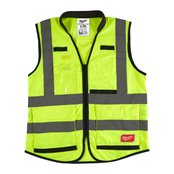 Premium High-Visibility Vest Yellow - L/XL