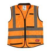 Premium High-Visibility Vest Orange - L/XL