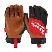 Hybrid Leather Gloves - M/8