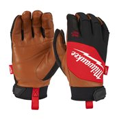 Hybrid Leather Gloves - M/8