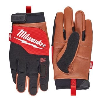 Hybrid Leather Gloves