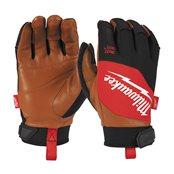 Hybrid Leather Gloves - L/9