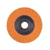 Flap discs CERA TURBO 115 mm / Grit 60