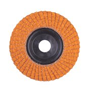 Flap discs CERA TURBO 125 mm / Grit 40