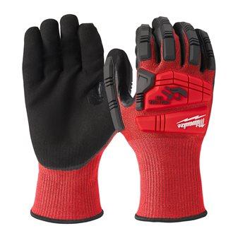 Impact cut level C gloves