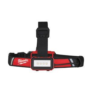 Lanternă frontală pentru cască protecție, reîncărcabilă USB