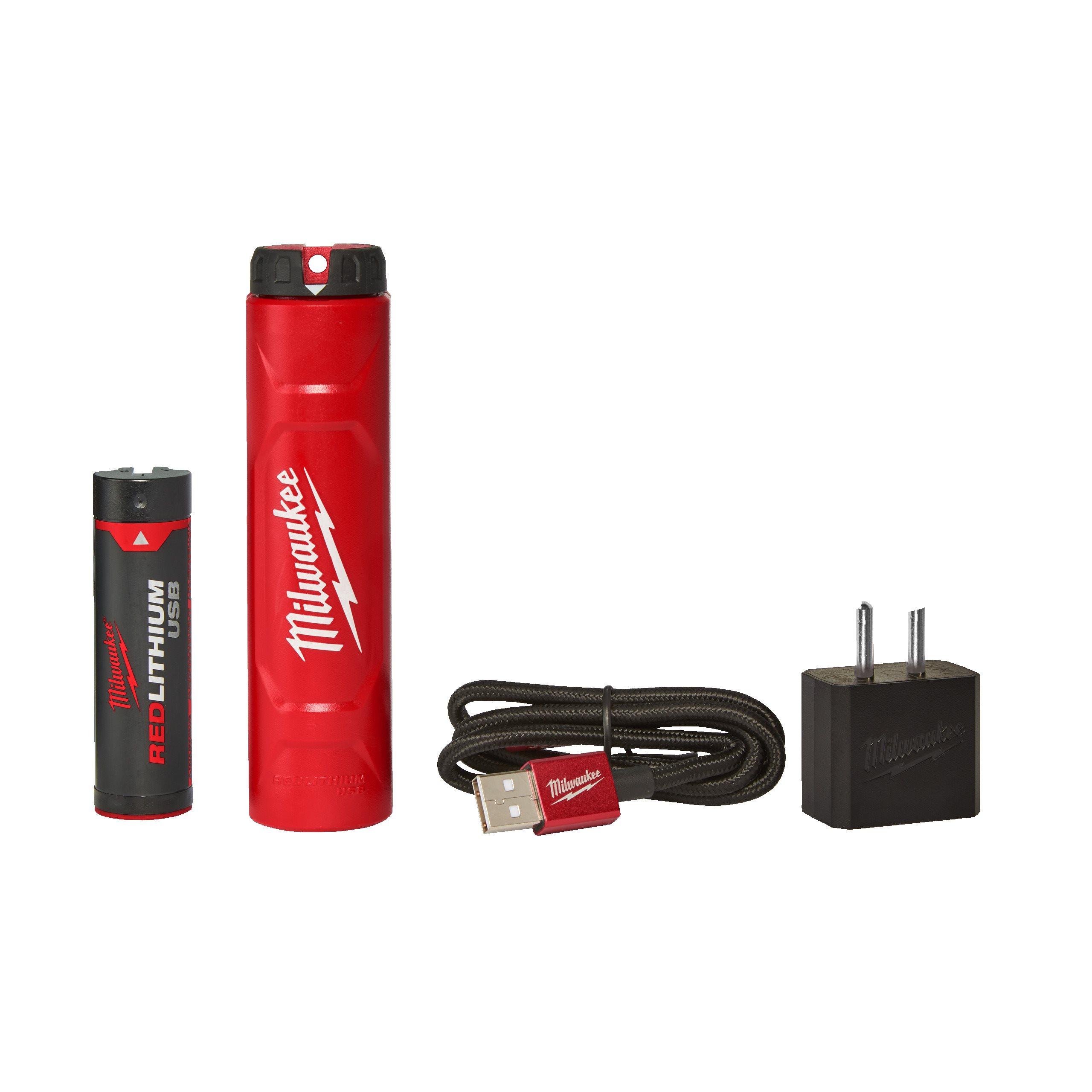 REDLITHIUM???USB batteri och laddare | L4 NRG 201 | Milwaukee