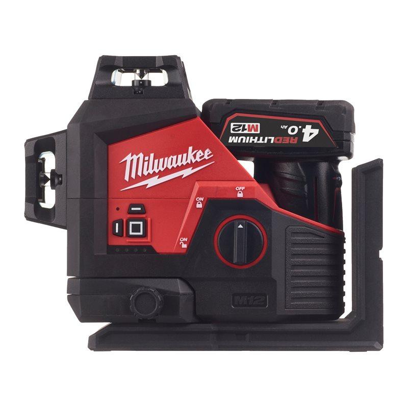 MILWAUKEE M12 3PL-401C Aku laserski nivelir s 3 linije od  360°