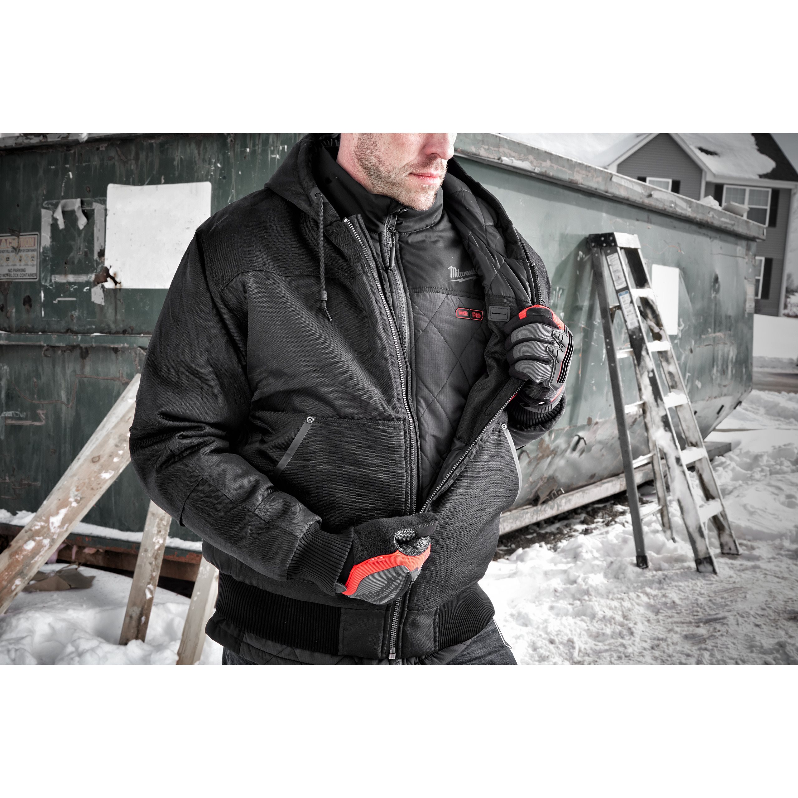 No Battery or Charger XL 4933464373 Milwaukee M12 HBWP-0 Heated Vest