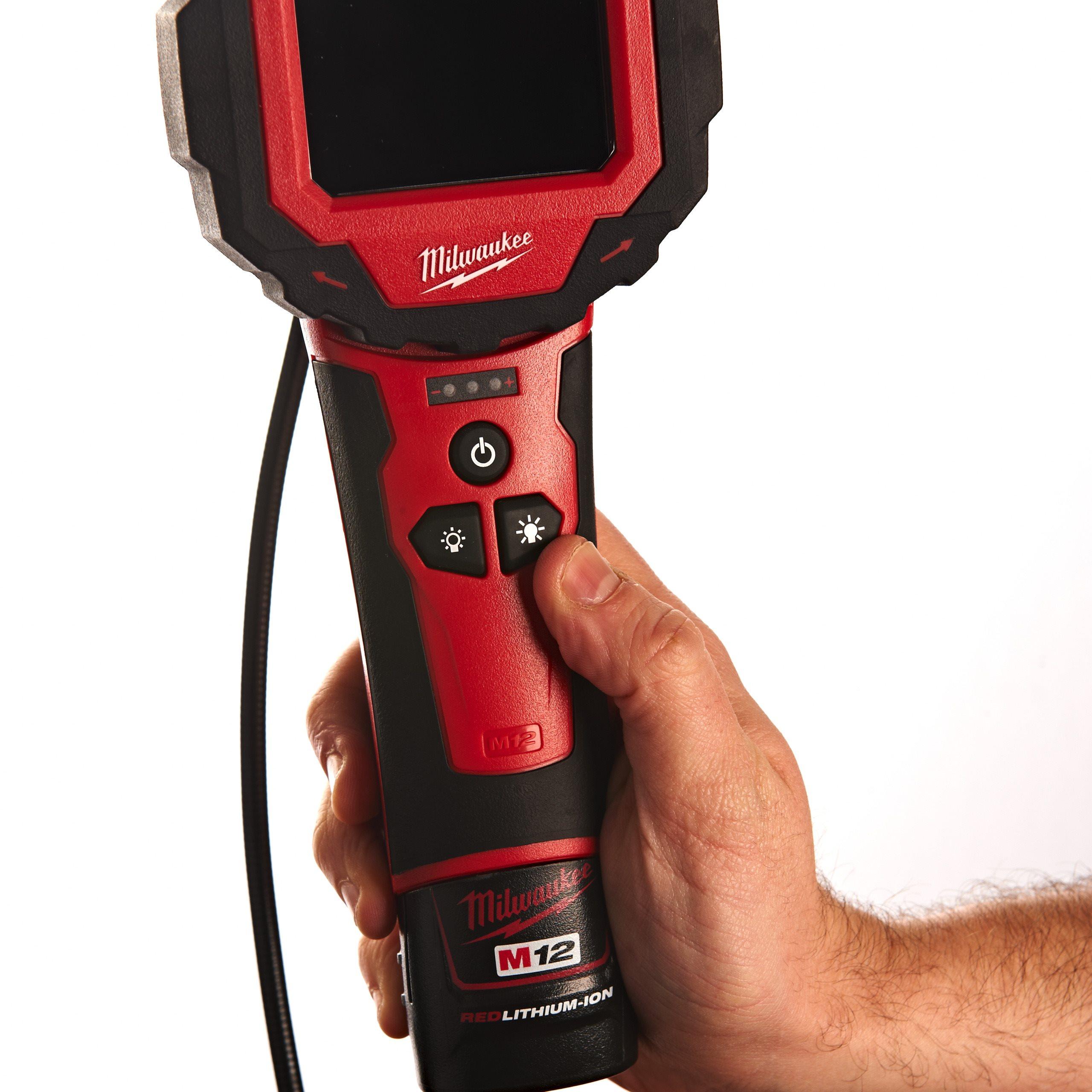 12-Volt inspection camera without Batt M12//0S-IC-Milwaukee