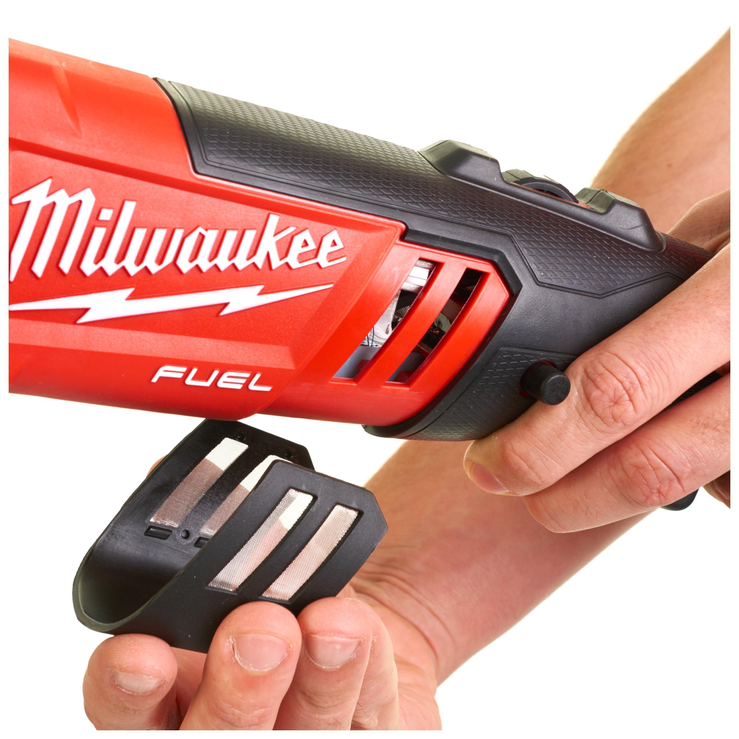 Milwaukee M18 FAP180-0X Akku-Polierer Solo in HD-Box